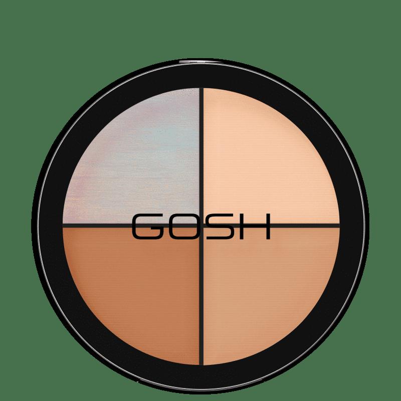 GOSH Strobe'n Glow Kit Highlight - Paleta de Iluminador 15g