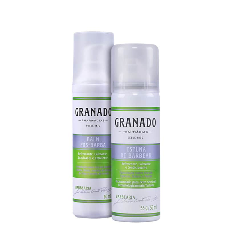 Kit Barba Granado Barbearia Duo Travel (2 produtos)