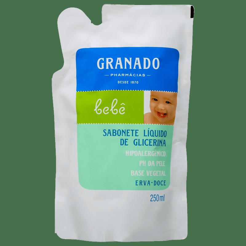 Granado Bebê Erva-Doce - Sabonete Líquido Refil 250ml
