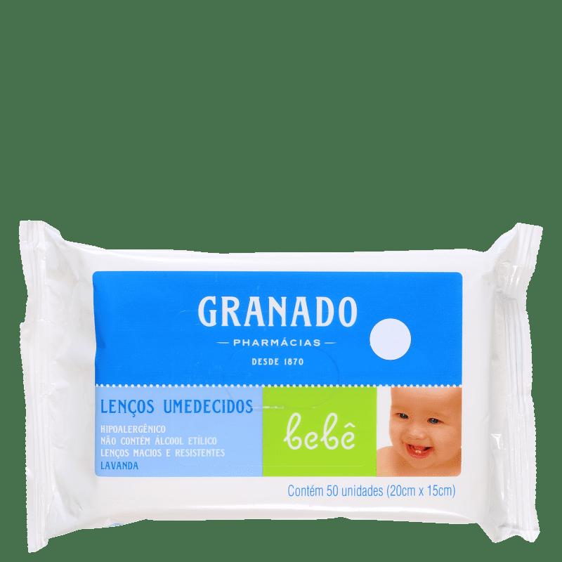 Granado Bebê Lavanda - Lenços de Limpeza (50 unidades)