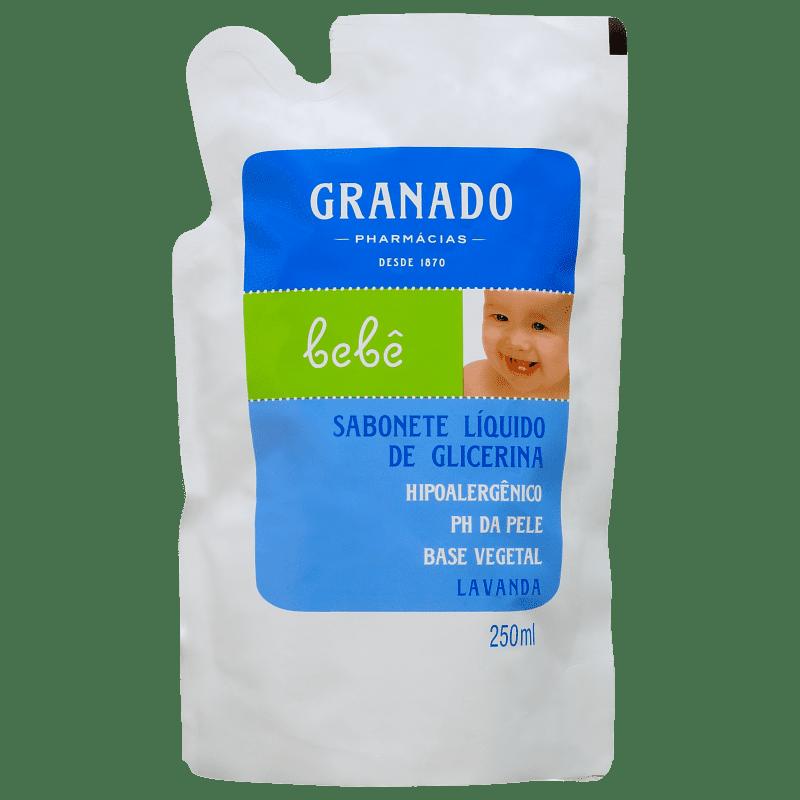 Granado Bebê Lavanda - Sabonete Líquido Refil 250ml