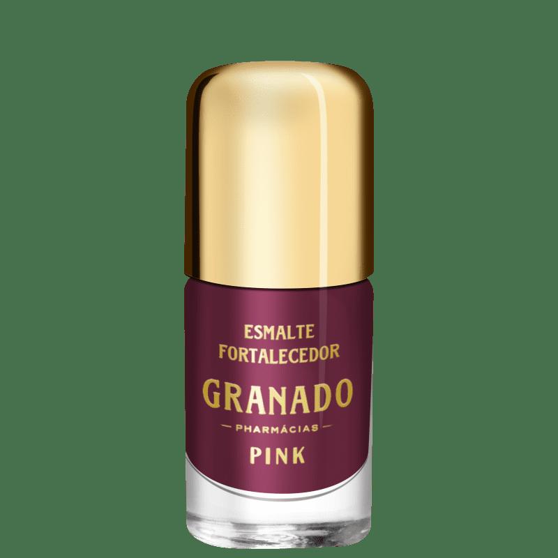 Granado Pink Fortalecedor Bessie - Esmalte Cremoso 10ml