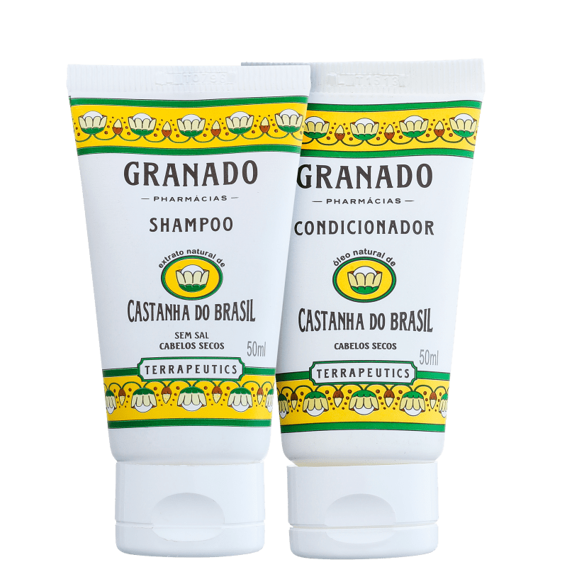 Kit Granado Terrapeutics Castanha do Brasil Cabelo Hidratado (2 Produtos)
