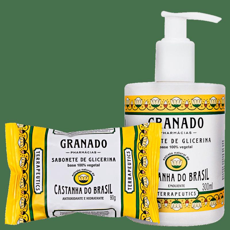 Granado Terrapeutics Castanha do Brasil Kit Banho (2 Produtos)