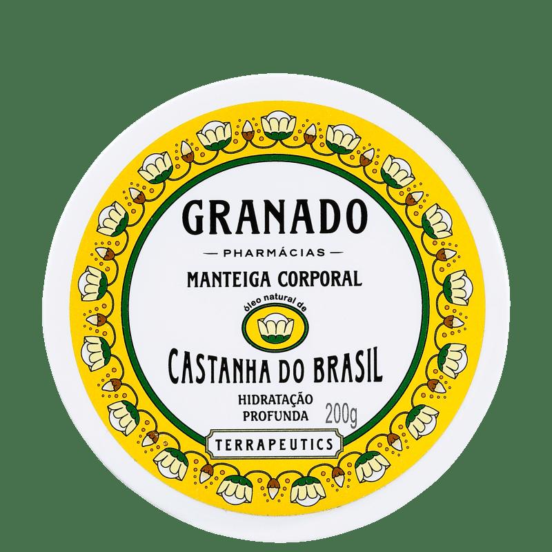 Granado Terrapeutics Castanha do Brasil - Manteiga Hidratante Corporal 200g