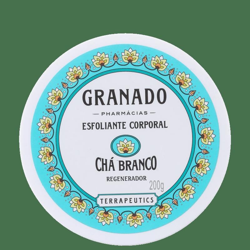 Granado Terrapeutics Chá Branco Regenerador - Esfoliante Corporal 200g