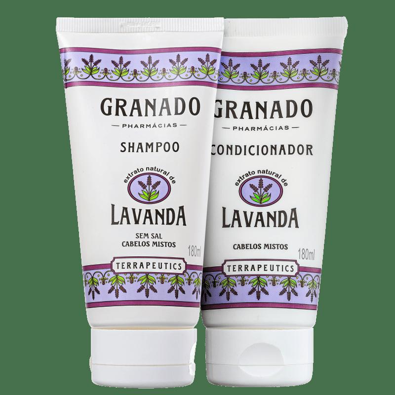 Kit Granado Terrapeutics Lavanda Cabelo Misto Equilibrado (2 Produtos)