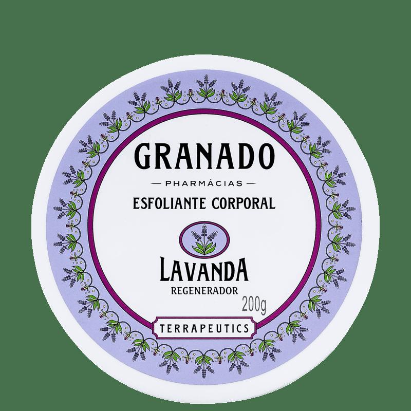 Granado Terrapeutics Lavanda Regenerador - Esfoliante Corporal 200g