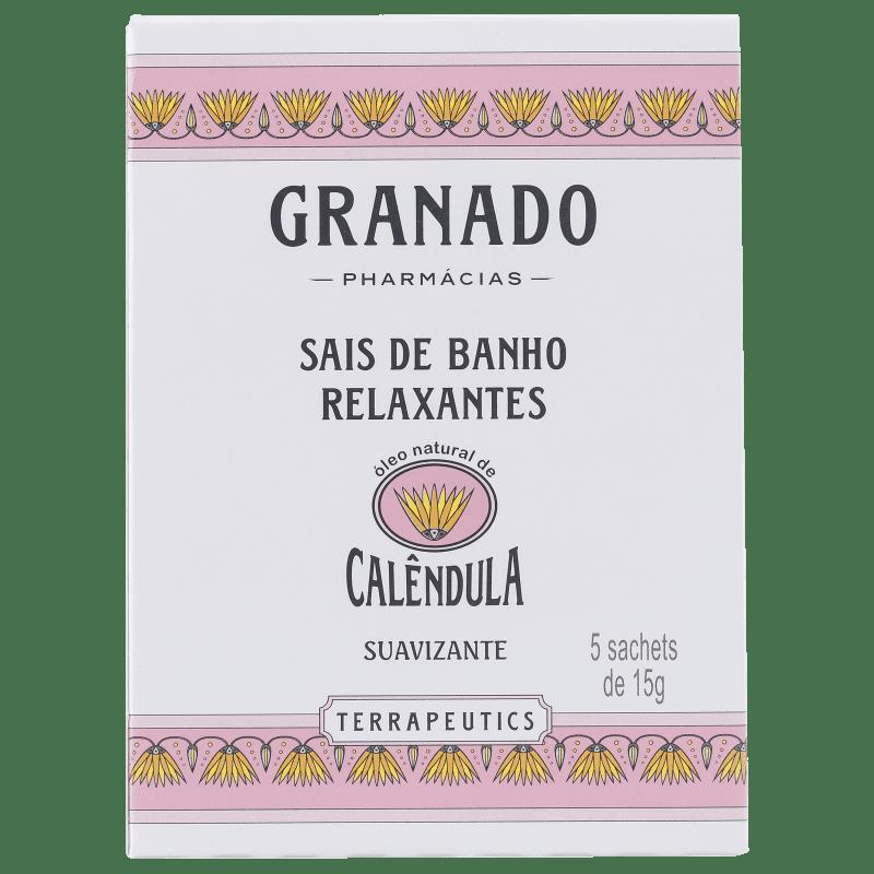 Granado Terrapeutics Relaxantes Calêndula - Sais de Banho 5x16g