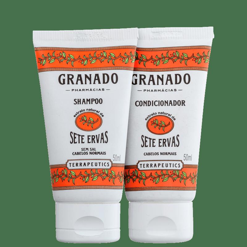Kit Granado Terrapeutics Sete Ervas Cabelo Normal (2 Produtos)