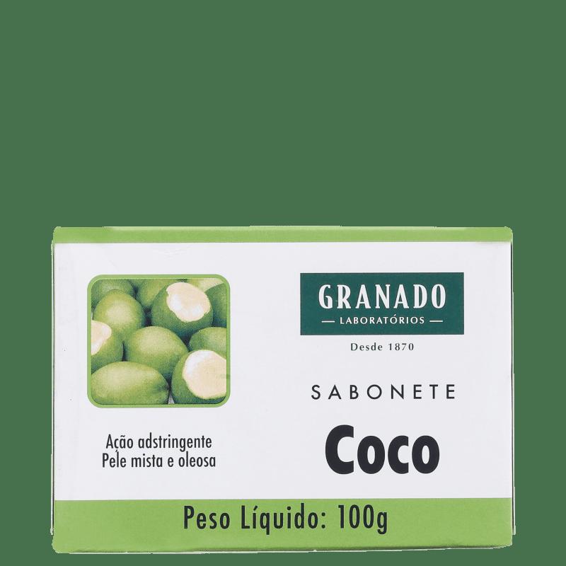 Granado Tratamento Coco - Sabonete em Barra Facial 100g