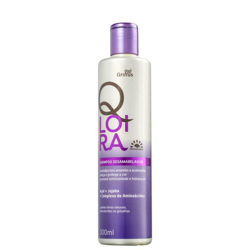 Griffus QLoira - Shampoo Desamarelador 300ml