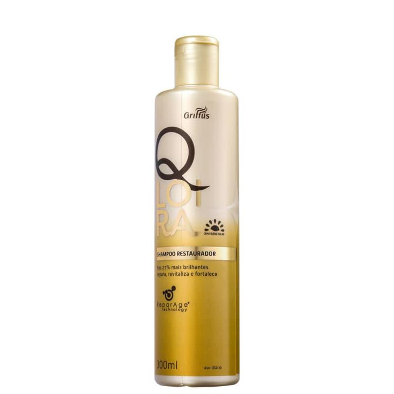 Griffus QLoira - Shampoo Restaurador 300ml
