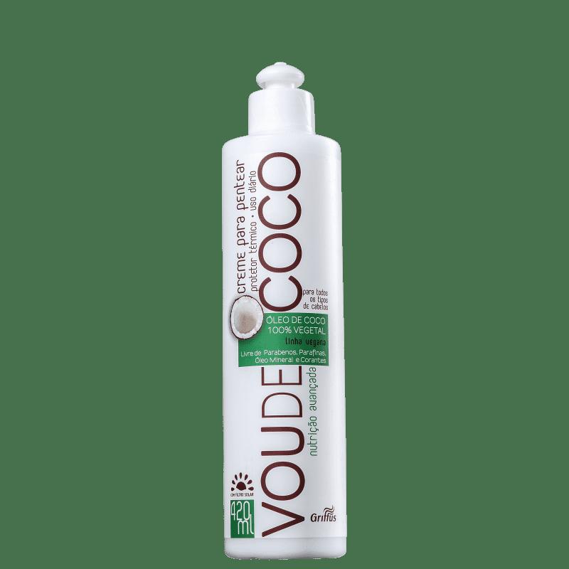 Griffus Vou de Coco - Creme de Pentear 420ml