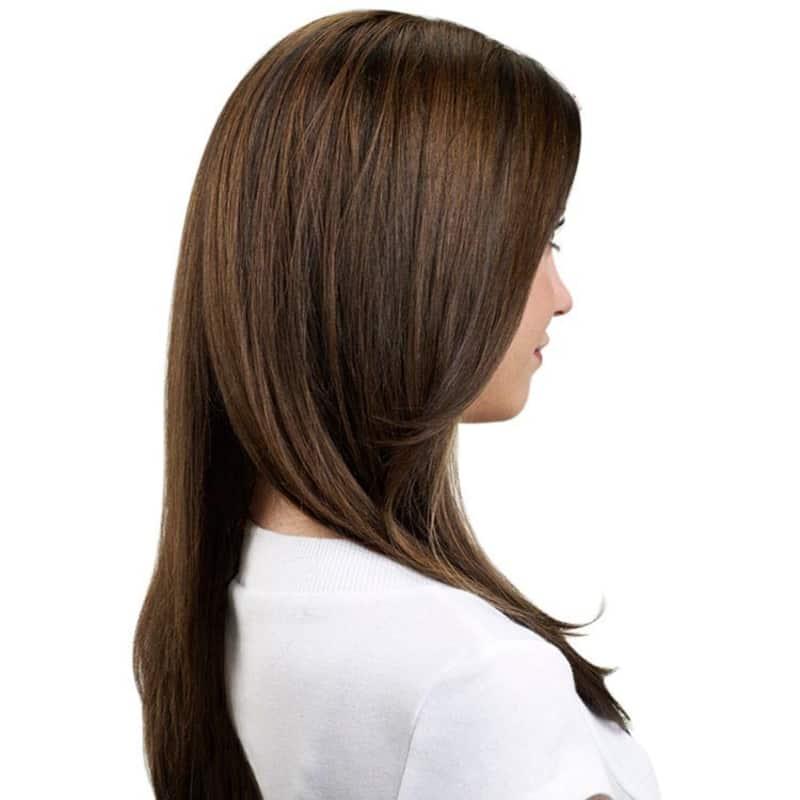 Hairdo Avelã - Aplique Liso em Camadas 63cm