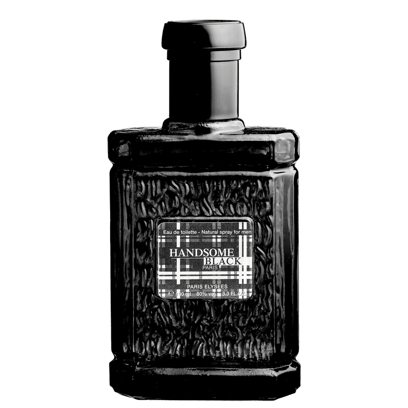 Handsome Black Paris Elysees Eau de Toilette - Perfume Masculino 100ml