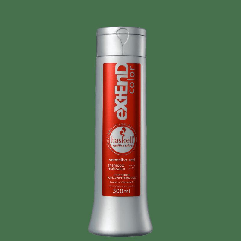 Haskell Extend Color Vermelho - Shampoo Matizador 300ml