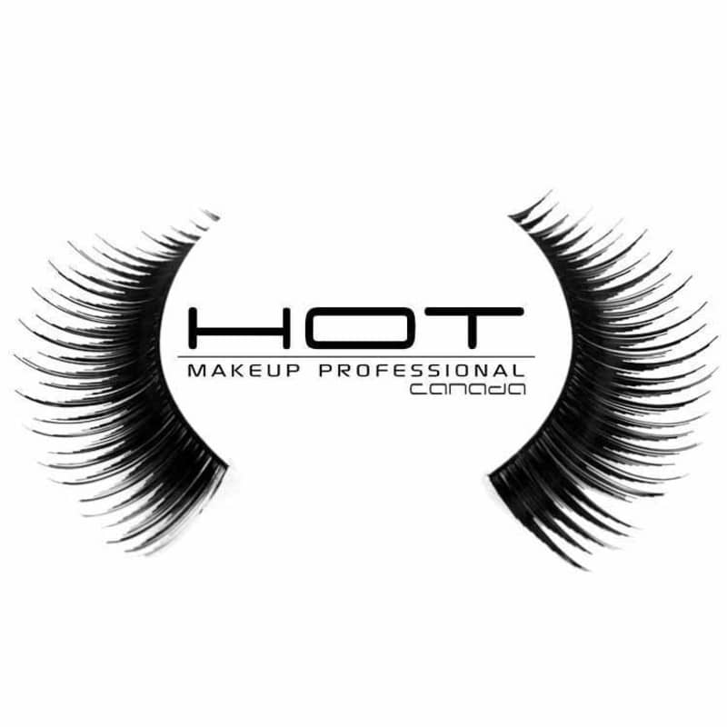 Hot MakeUp Fashion Lashes Medium Intense - Cílios Postiços