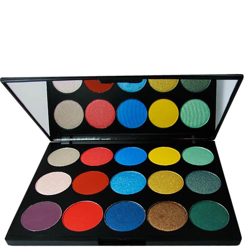 Hot MakeUp I08A 15 Eye Shadow Cool Colours - Paleta de Sombras