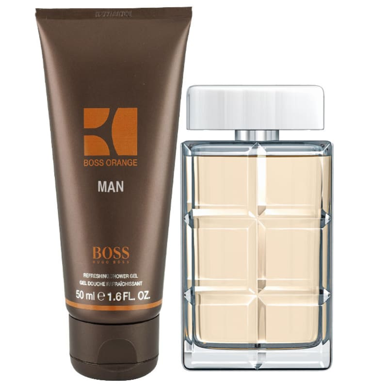 Hugo Boss Conjunto Masculino Orange Man 1 - Eau de Toilette 15ml + Shower Gel 50ml