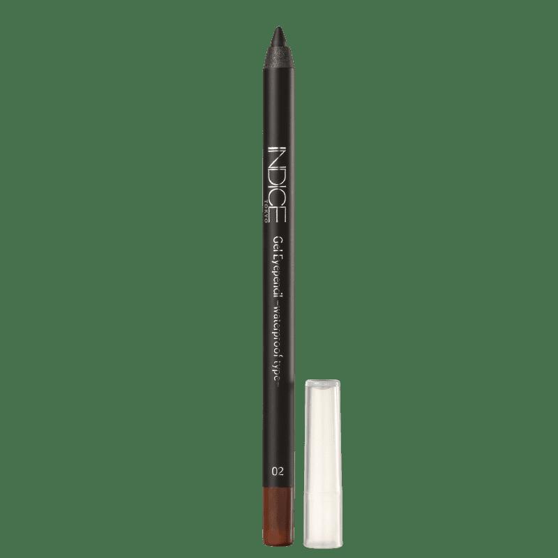 Indice Tokyo 02 Red Brown - Lápis Delineador em Gel 1,5g
