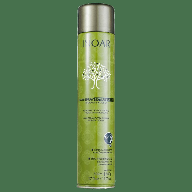 Inoar Argan Oil System Extra Forte - Spray Fixador 500ml