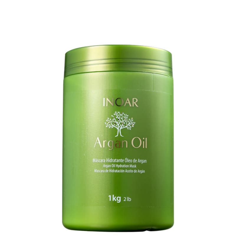 Inoar Argan Oil System - Máscara Capilar 1000g