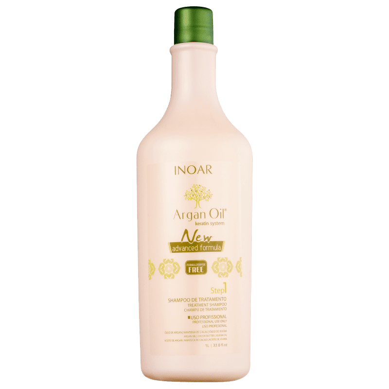 Inoar Argan Oil System Step 1 - Shampoo 1000ml