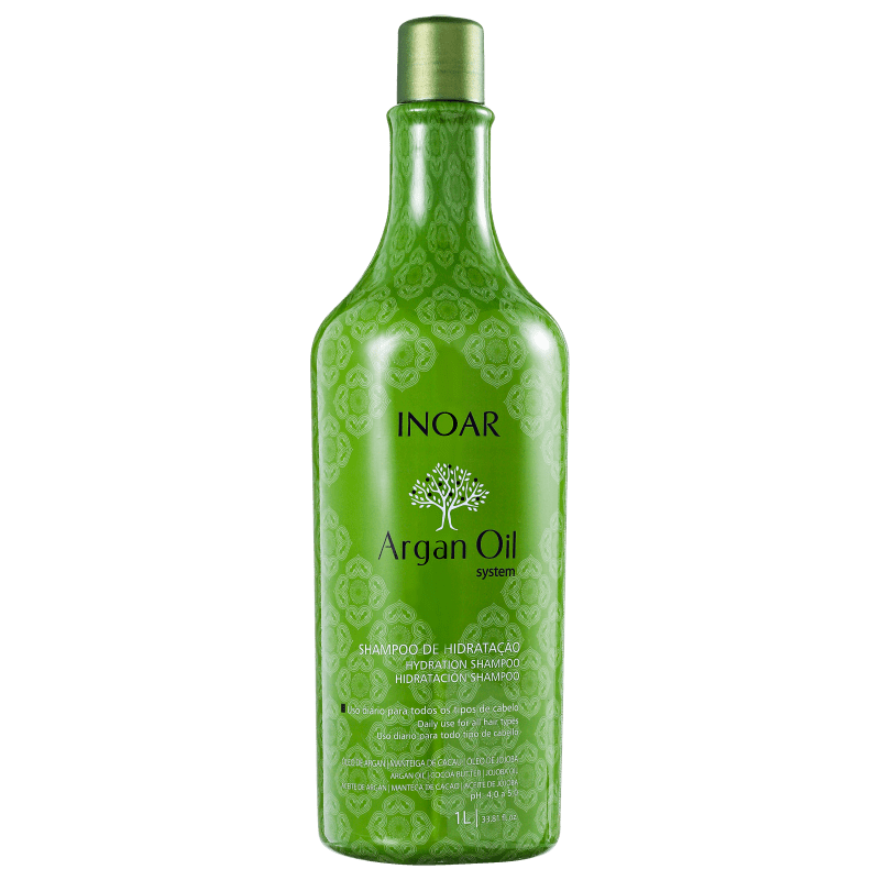 Inoar Argan Oil System - Shampoo 1000ml
