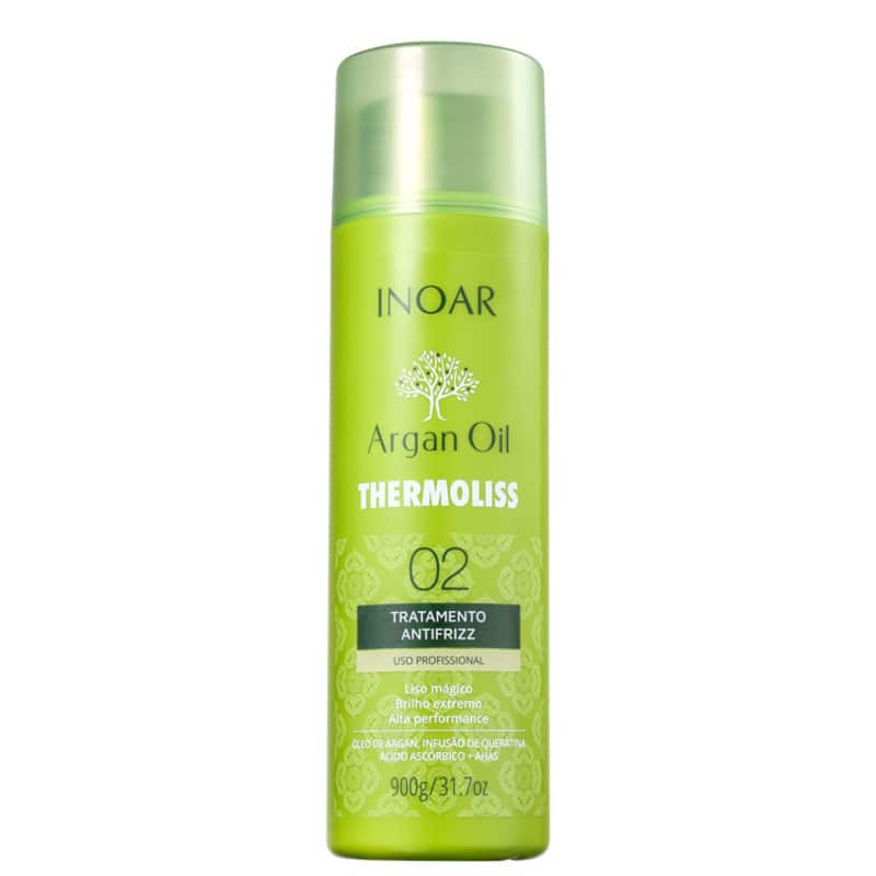 Tratamento Argan Oil System Thermoliss 02 900g