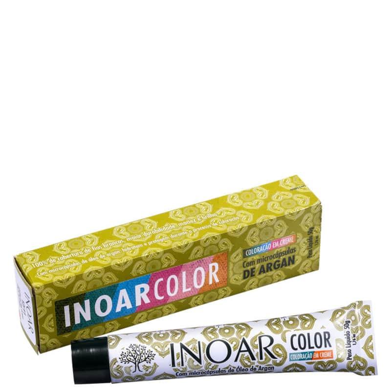 Inoar Color Naturais 4/0 Castanho Médio - Coloração 50g
