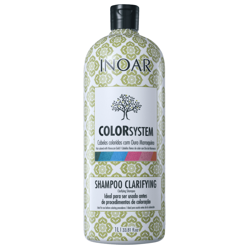 Inoar Color System Clarifying - Shampoo Antirresíduo 1000ml