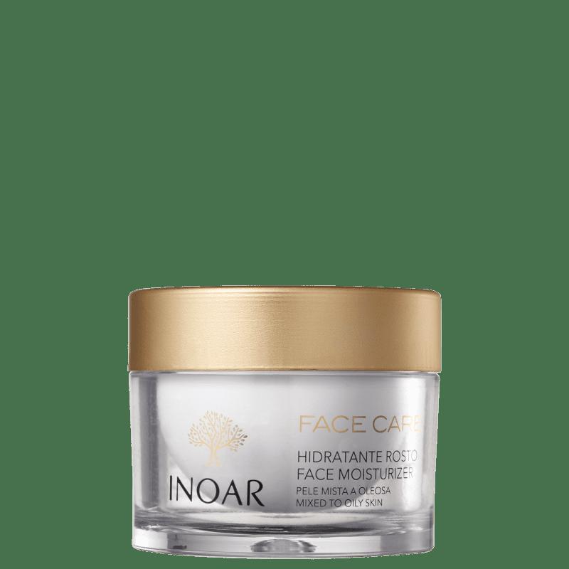 Inoar Face Care Pele Mista a Oleosa - Hidratante Facial 50g