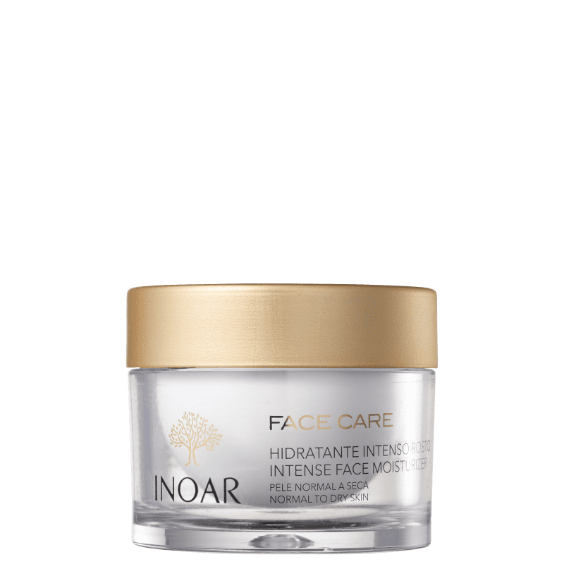Inoar Face Care Pele Normal a Seca - Hidratante Facial 50g