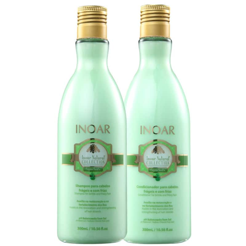 Inoar Natural Collection Capim Santo Kit (2 Produtos)