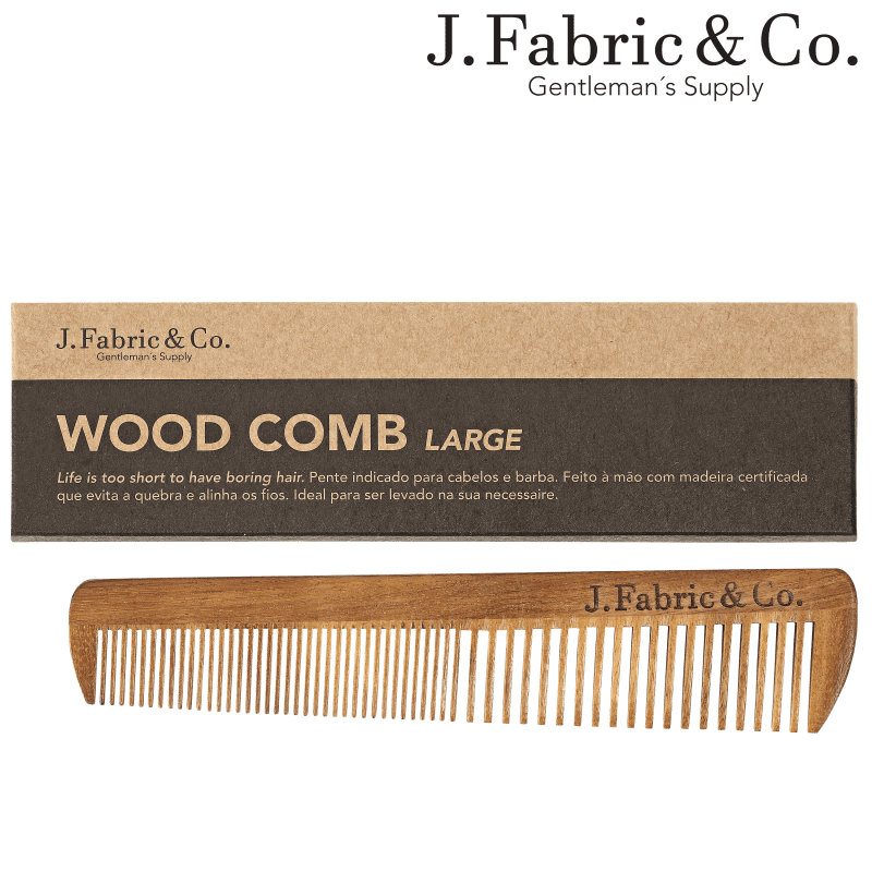 J. Fabric & Co. Wood Comb Large - Pente