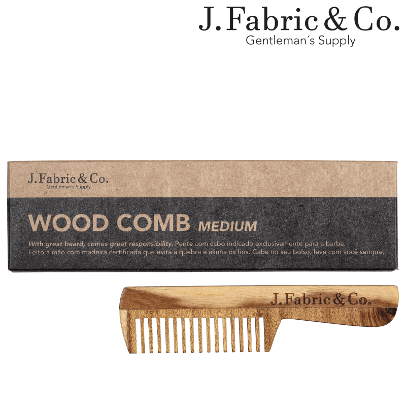 J. Fabric & Co. Wood Comb Medium - Pente