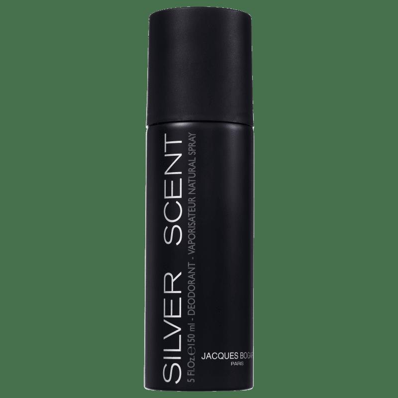 Jacques Bogart Silver Scent for Men - Desodorante Masculino 150ml