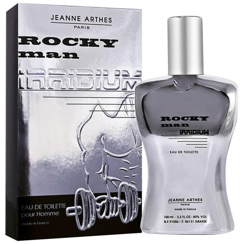 Rocky Man Irridium Jeanne Arthes Eau de Toilette - Perfume Masculino 100ml