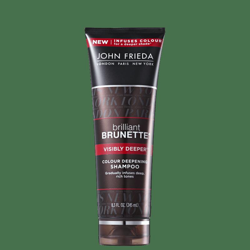 John Frieda Brilliant Brunette Visibly Deeper - Shampoo 245ml