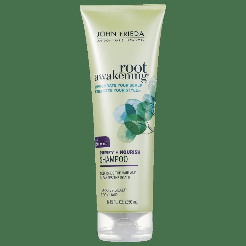 John Frieda Root Awakening Purify + Nourish - Shampoo 250ml