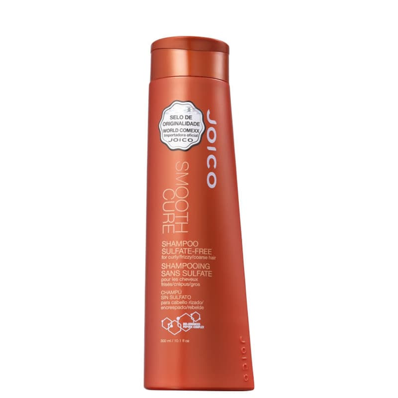 Joico Smooth Cure - Shampoo sem Sulfato 300ml