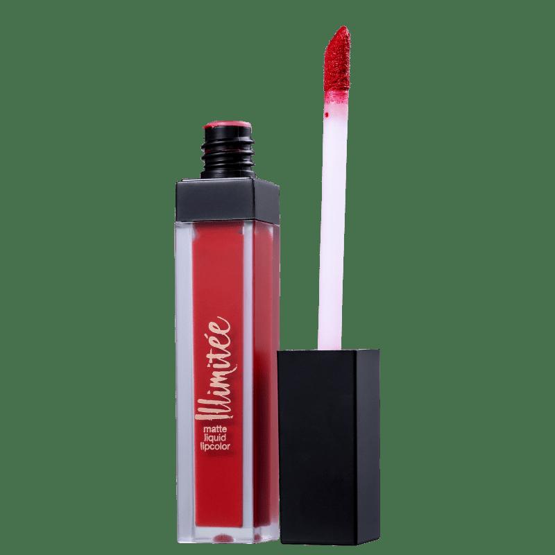 Joli Joli Illimitee Lipcolor 235 Rouge Amour - Batom Líquido Matte 4g