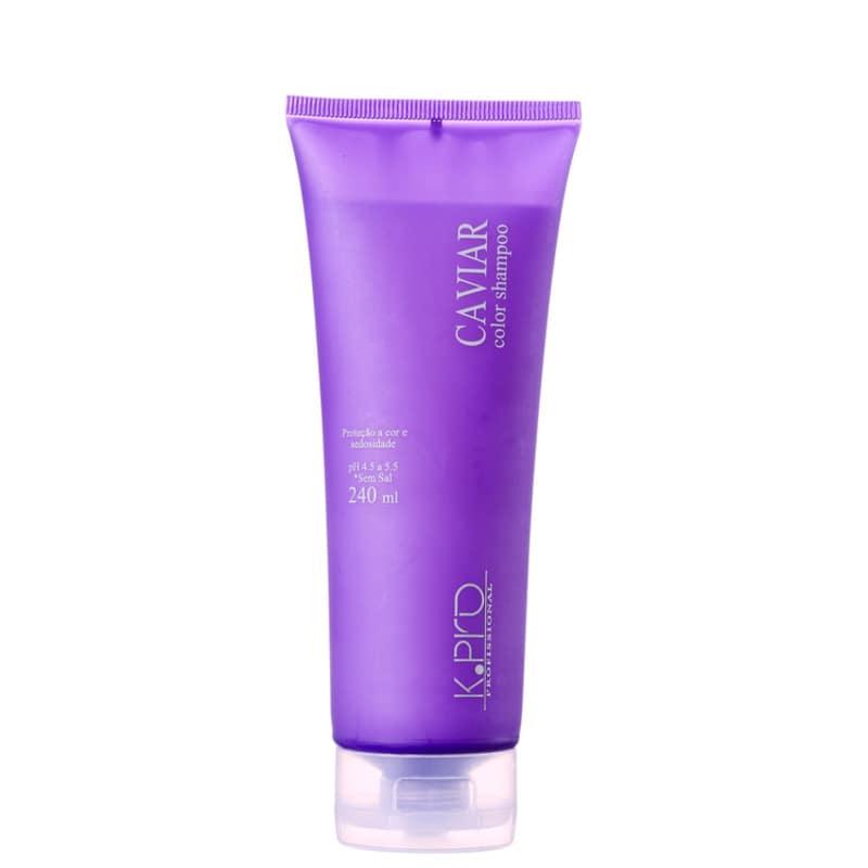K.Pro Caviar Color - Shampoo sem Sulfato 240ml