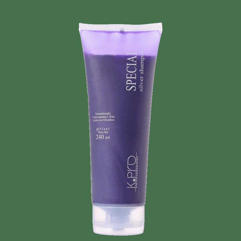 K.Pro Caviar Special Silver - Shampoo Desamarelador 240ml
