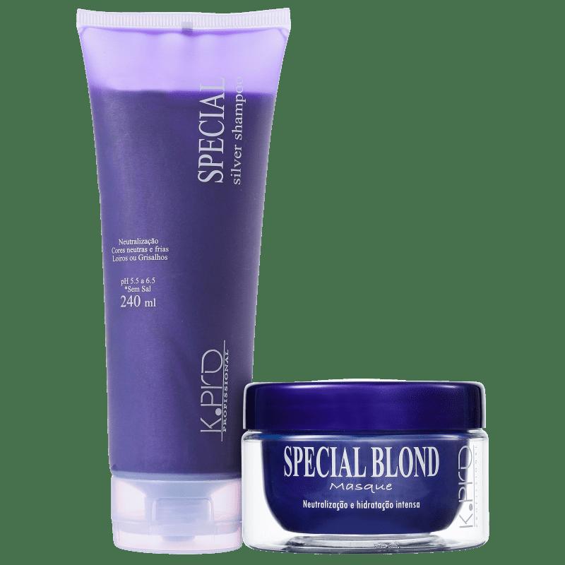 Kit K.Pro Special Silver Blond Treatment (2 Produtos)