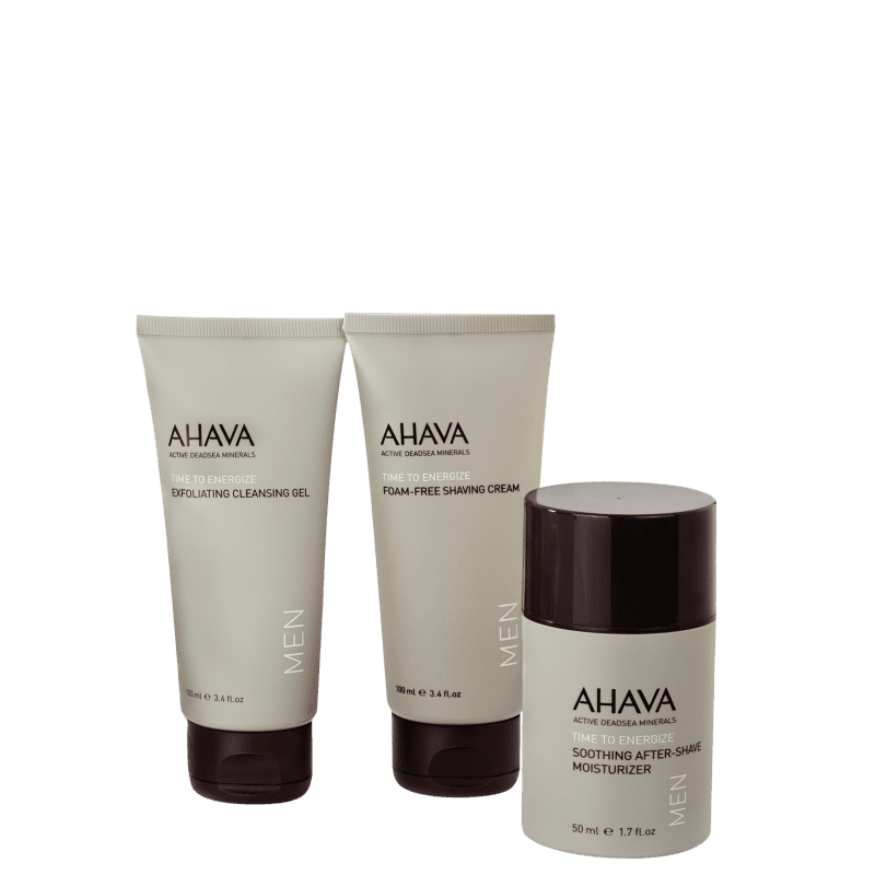 Kit Ahava Time To Energize Men (3 Produtos)