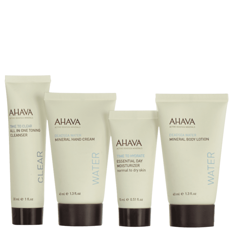 Kit Ahava Travel Must-Have (4 Produtos)