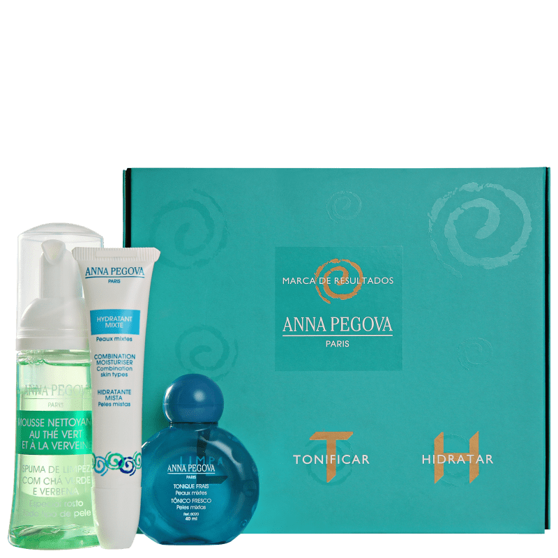 Kit Anna Pegova LTH Travel (3 produtos)