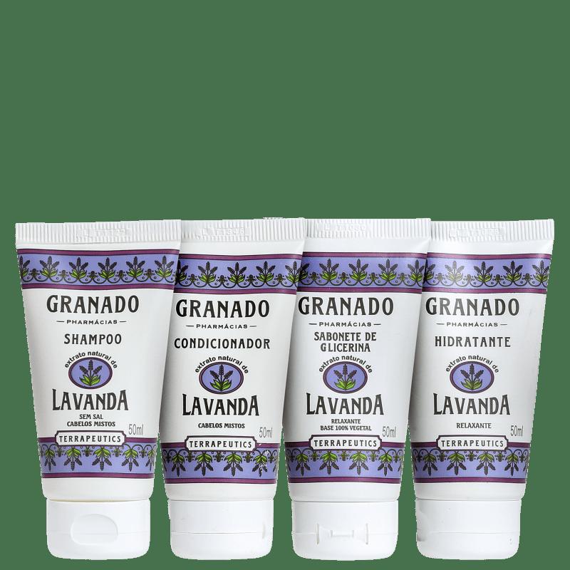 Kit Granado Terrapeutics Banho Lavanda (4 Produtos)